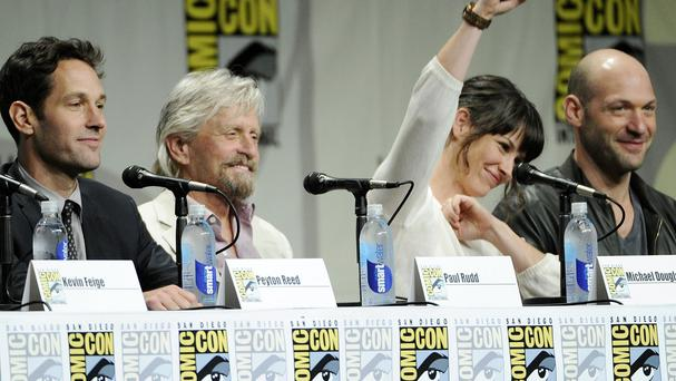 Michael Douglas, Evangeline Lilly and Corey Stoll's roles in Ant-Man have been revealed