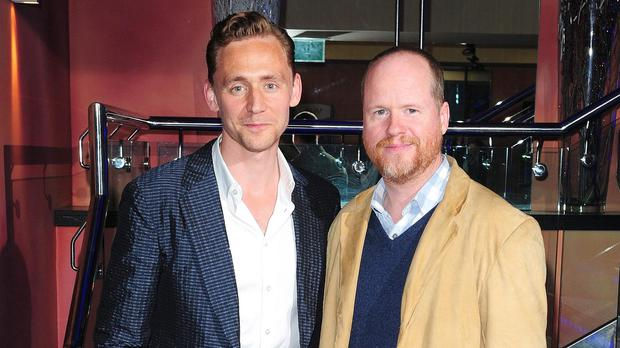 Joss Whedon (right) has published a thank you letter from Tom Hiddleston for the part of Loki