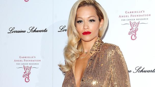 Rita Ora has admitted working on the Fifty Shades Of Grey movie was hard