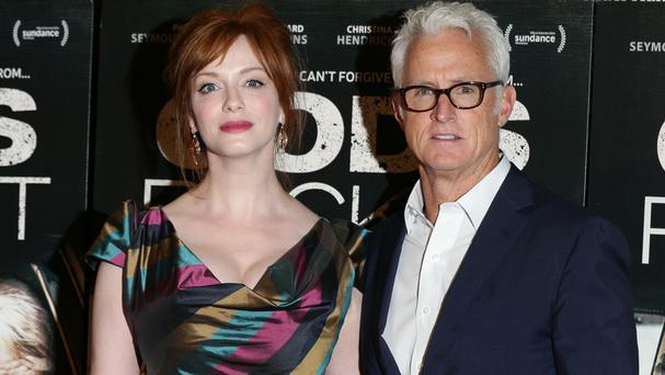 Christina Hendricks and director John Slattery were proud to work with Philip Seymour Hoffman on God's Pocket