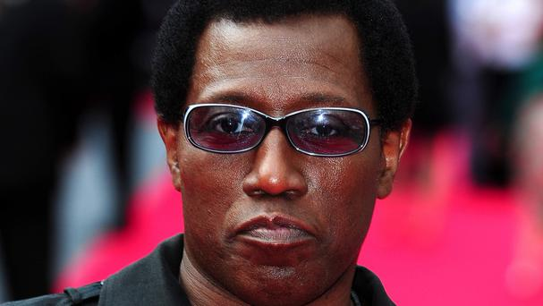Wesley Snipes plays Doc Death in The Expendables 3