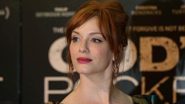 Christina Hendricks admits she likes playing dark roles
