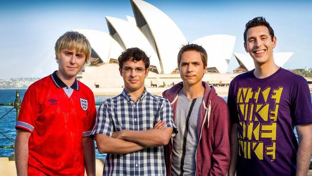 The Inbetweeners go Down Under for their new movie