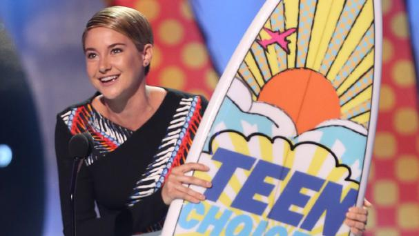 Shailene Woodley won a host of gongs at the Teen Choice Awards