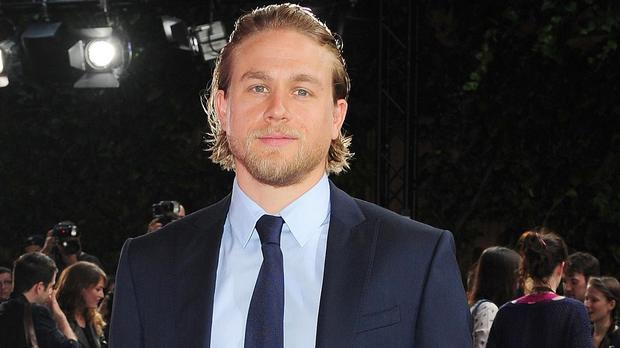 Charlie Hunnam has been linked to the role of King Arthur