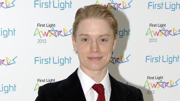 Freddie Fox has said he doesn't think Benedict Cumberbatch's posh background has harmed his career