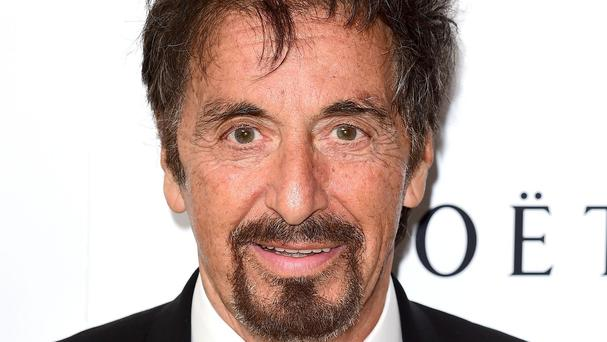 Al Pacino has been made a fellow of the British film Institute