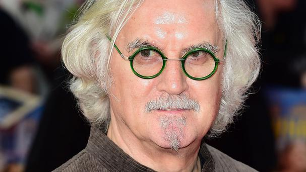 Billy Connolly stars in What We Did On Our Holiday