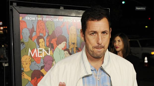 Adam Sandler has signed a four-film deal with Netflix (AP)