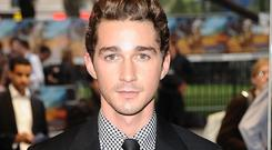 Shia LaBeouf cut his face for real for war movie Fury