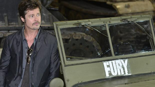 Brad Pitt's film Fury will close the London Film Festival