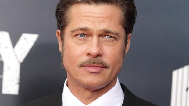 Brad Pitt attended the world premiere of Fury in Washington