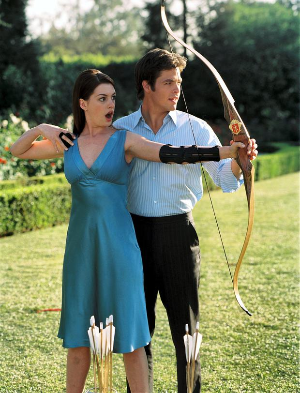 The Princess Diaries with Anne Hathaway and Chris Pine