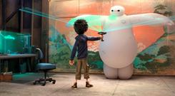 Disney's latest blockbuster, 'Big Hero 6', will have its Irish premiere at this year's Cork Film festival, which opens next Friday