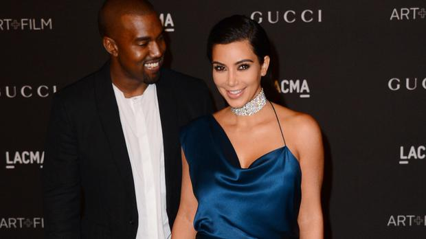 Kanye West and Kim Kardashian attended the LACMA Art and Film Gala honouring Quentin Tarantino