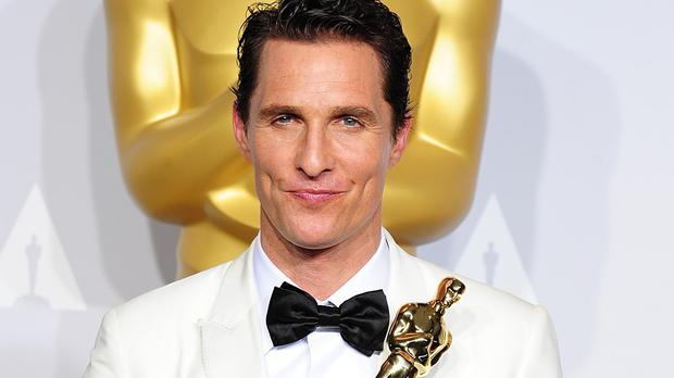 Matthew McConaughey says his son would save his Oscar in a disaster