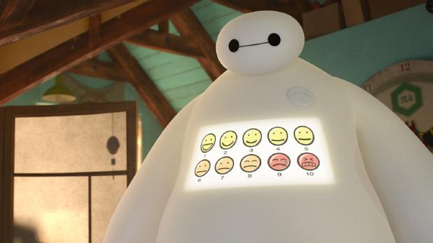 Big Hero 6 character Baymax is voiced by Scott Adsit