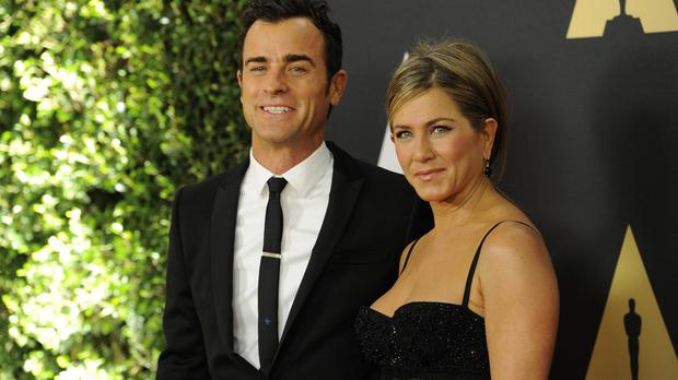 Justin Theroux and Jennifer Aniston were at the 6th annual Governors Awards