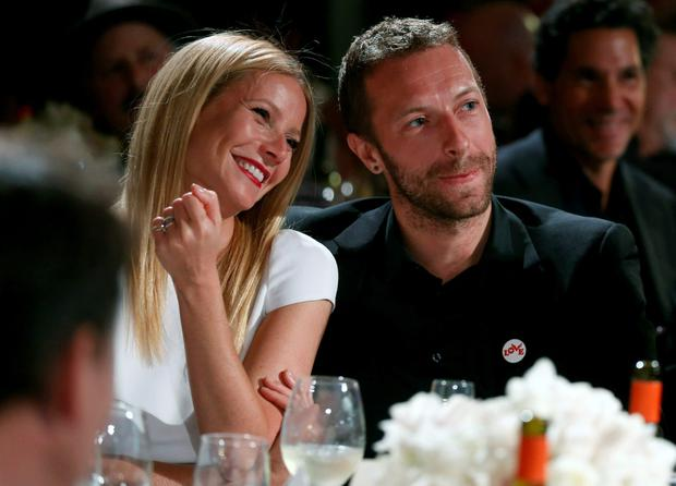 Gwyneth Paltrow and Chris Martin in happier times.