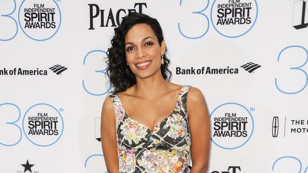 Rosario Dawson thinks it is amazing to still be working in Hollywood (AP)