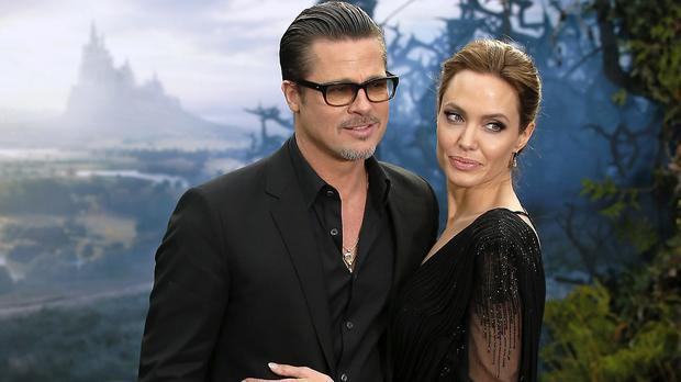 Hollywood's golden couple: Brad Pitt and Angelina Jolie
