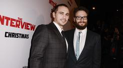 James Franco and Seth Rogen star in The Interview (AP)