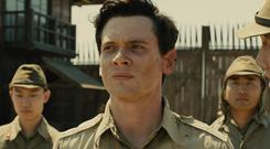 Jack O'Connell plays Louie Zamperini in Unbroken (PA Photo/Universal Pictures)