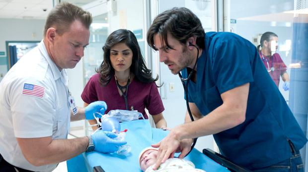 Eoin Macken as Dr TC Callahan in 'The Night Shift'