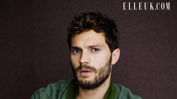 Jamie Dornan has insisted Christian Grey is different to his other major role in The Fall (Jeff Hahn/Elle UK)