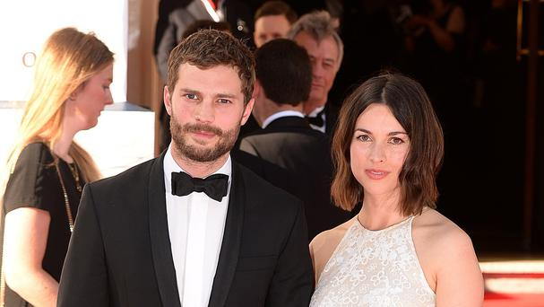 Jamie Dornan with his wife Amelia Warner