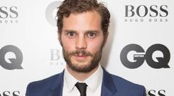 Jamie Dornan is so hot in Hollywood right now he can drunk tweet a single word and everyone laps it up