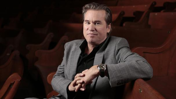 Val Kilmer is being treated in an LA hospital (AP)