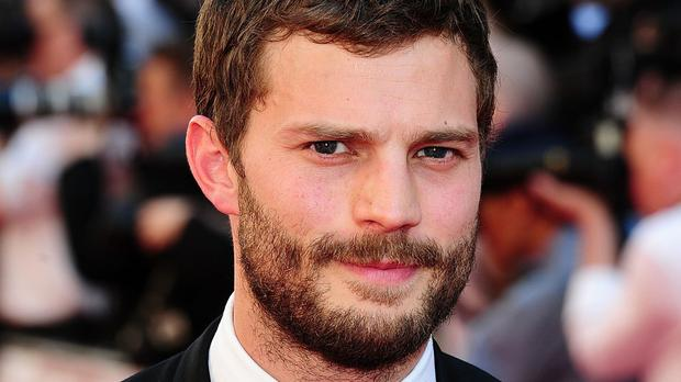 Jamie Dornan stars as Christian Grey in the film adaptation of the book