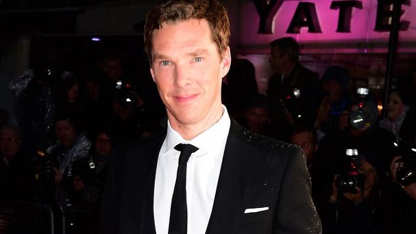 Benedict Cumberbatch says he has a horror of knowing what to say when accepting awards