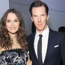 Keira Knightley and Benedict Cumberbatch attended a private pre-Bafta reception, hosted by The Newport Beach Film Festival