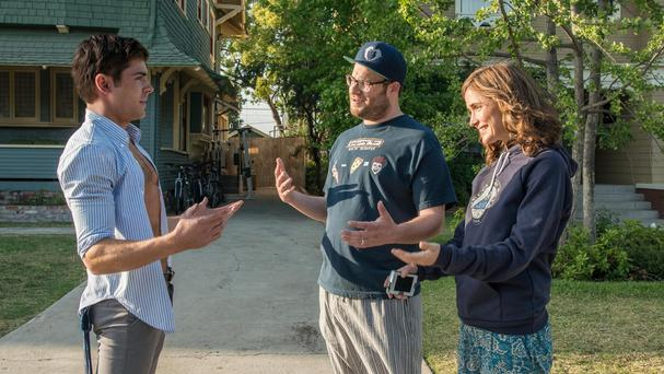 Zac Efron, Seth Rogen and Rose Byrne are returning for Bad Neighbours 2