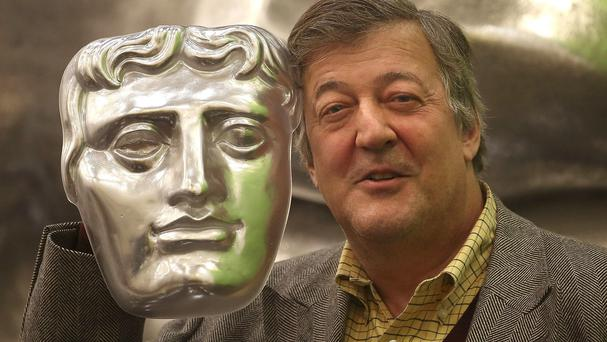 Stephen Fry hosted the Baftas, which was televised by the BBC