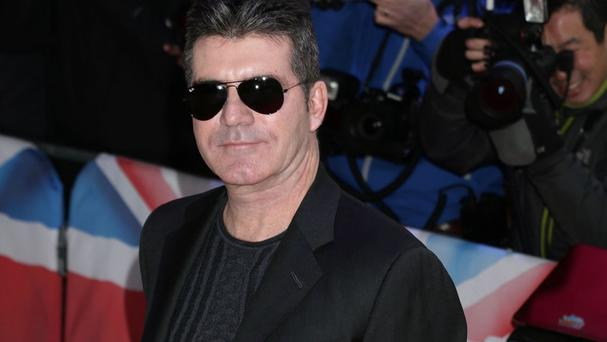 Simon Cowell arriving for Britain's Got Talent London auditions