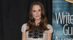 Keira Knightley attended the Writers Guild Awards