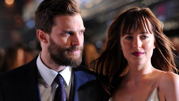 Fifty Shades Of Grey has has a record breaking opening weekend