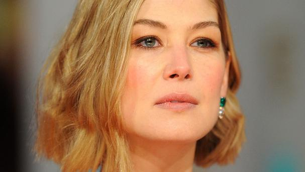 Rosamund Pike is nominated for a leading actress Oscar