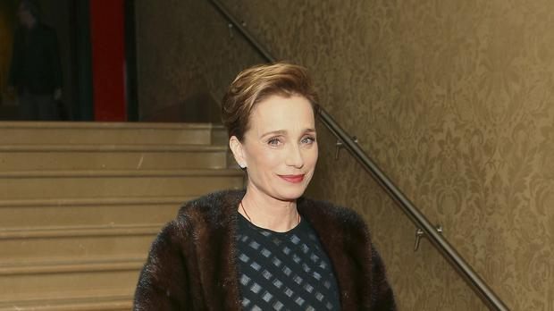Kristin Scott Thomas at the gala screening of Suite Francaise