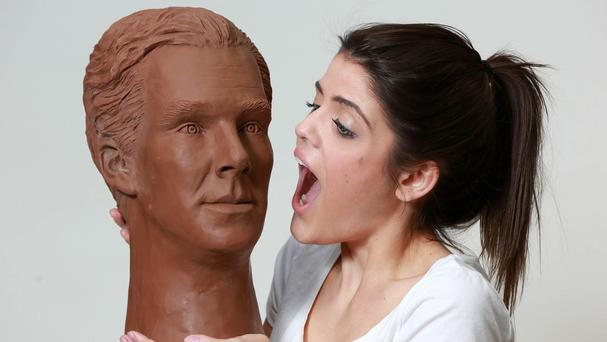 Benedict Cumberbatch has been immortalised in chocolate