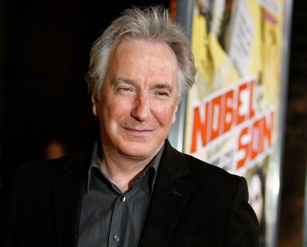 In touch with his Celtic roots: Alan Rickman says his trips to Ireland were 'absolutely like coming to somewhere I knew'.
