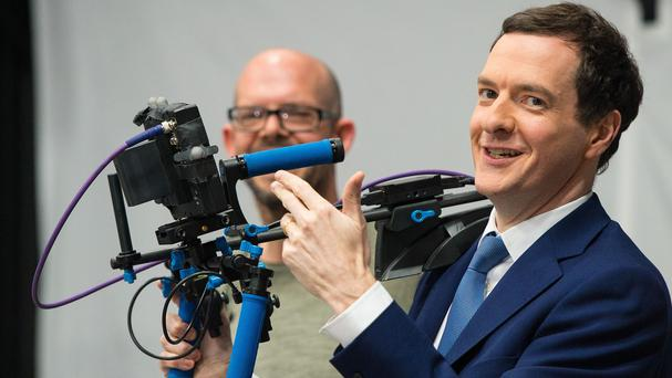 The next Star Wars epic is to be filmed in the UK, Chancellor George Osborne announced on a visit to Ealing Studios