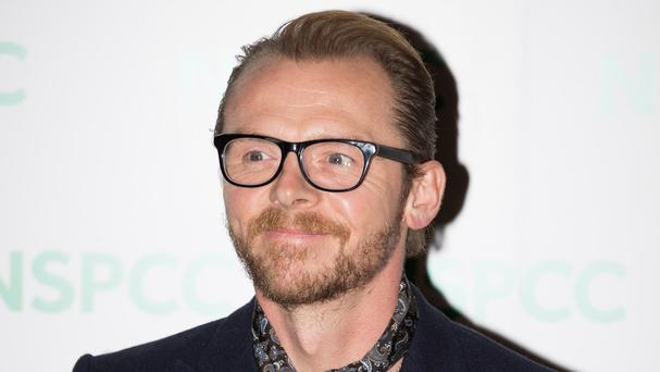 Simon Pegg is starring as the romantic lead in his new film Man Up
