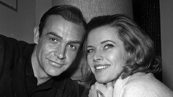 Honor Blackman played Pussy Galore alongside Sean Connery's James Bond