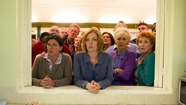 Olivia Colman, centre, in London Road