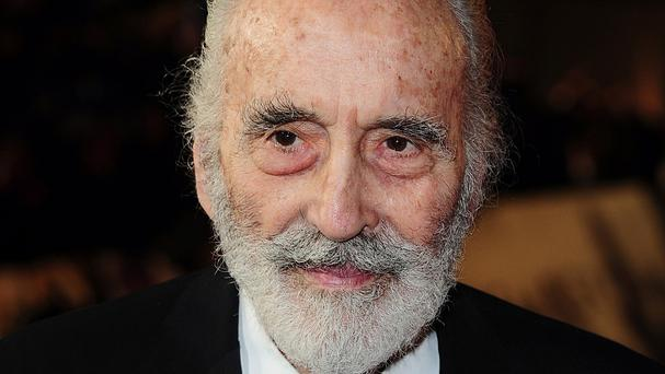Christopher Lee appeared in a string of horror films and played a Bond villain in The Man With The Golden Gun