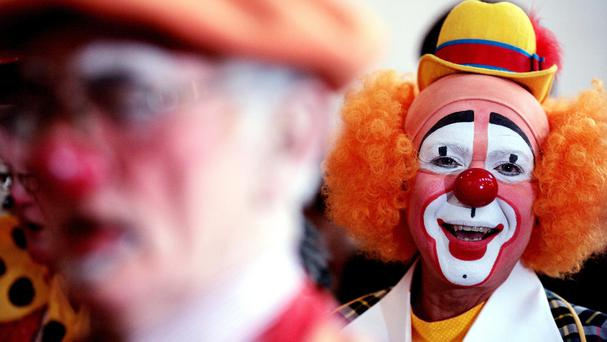 Coulrophobia is the fear of clowns